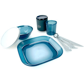 GSI Infinity Set da tavola per 1 persona, blu